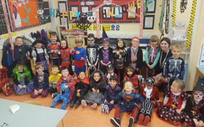Happy Halloween from Junior Infants!