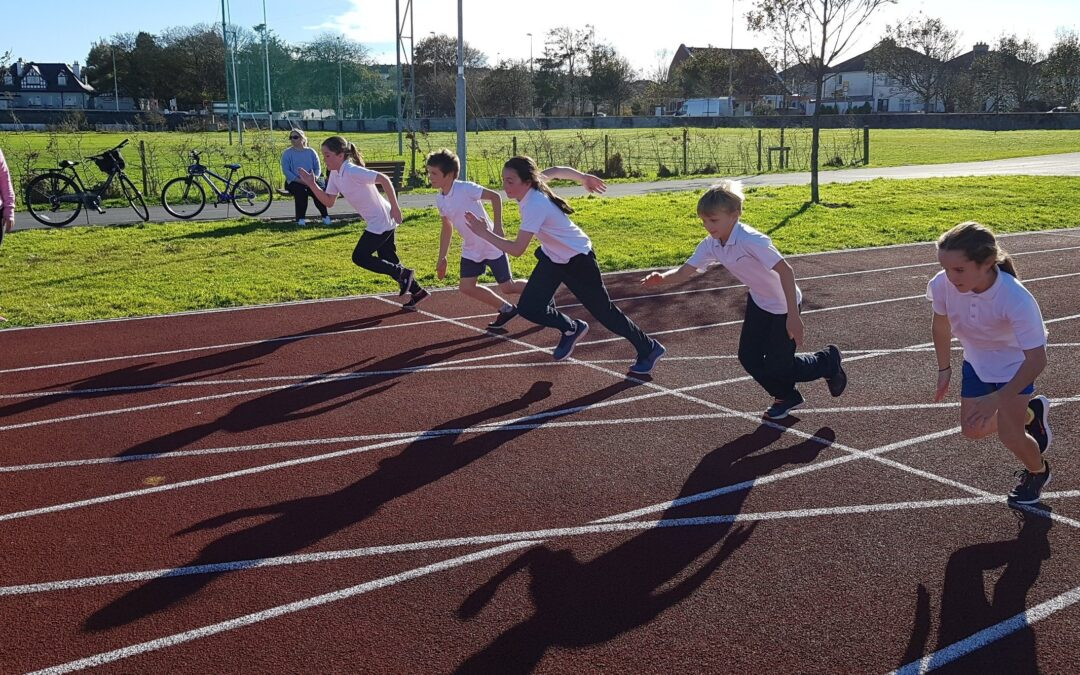 Athletics Training -Monday at 2.30 in Westside
