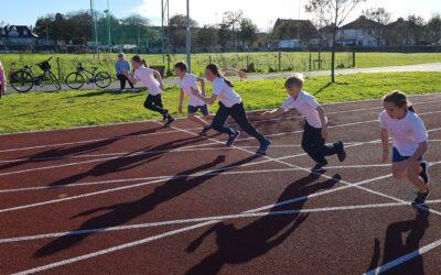 Athletics Training -Monday at 2.30 in Westside