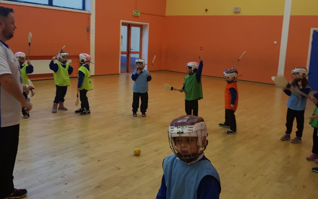Hurling in senior infants