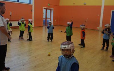 Hurling in senior infants