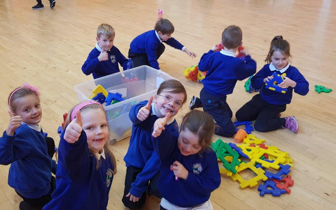 Friendship week in Senior Infants