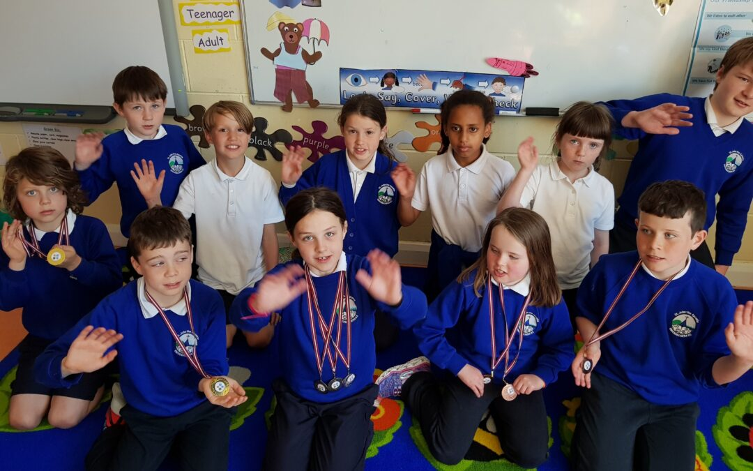 Athletics – Community Games winners