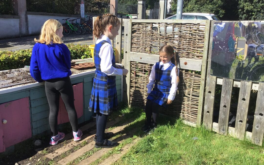 2nd Class enjoyed their drama class outside today!