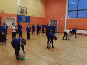 4th Class Rugby with Matt