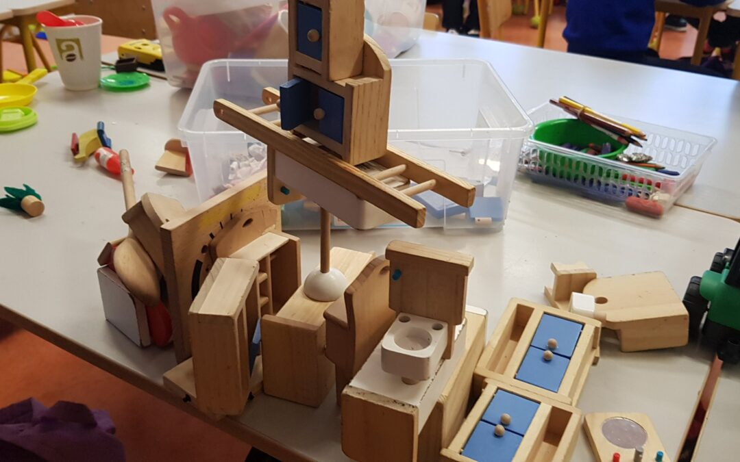 Construction Site in room 4 -Houses and Homes
