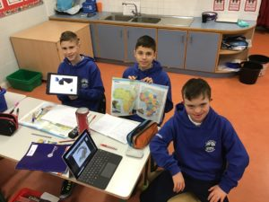 6th Class working on Africa projects this week!