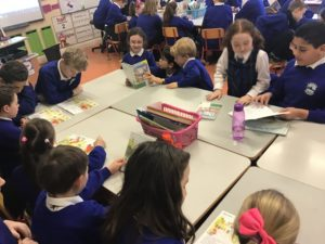 Buddy Reading as Gaeilge.