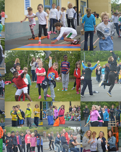 Sports Day Knocknacarra NS 2016