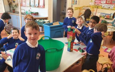 Play time in room 4- March