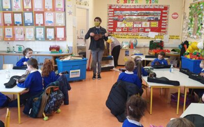 Ukulele lessons in senior infants