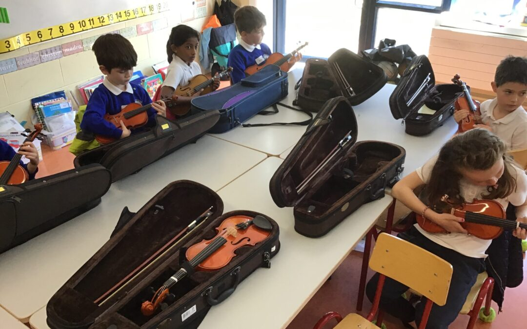 Music Generation – Violin in 2nd Class