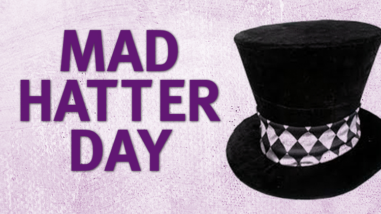 Mad Hatter Day in 2nd Class
