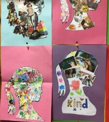 'All About Me' collage.